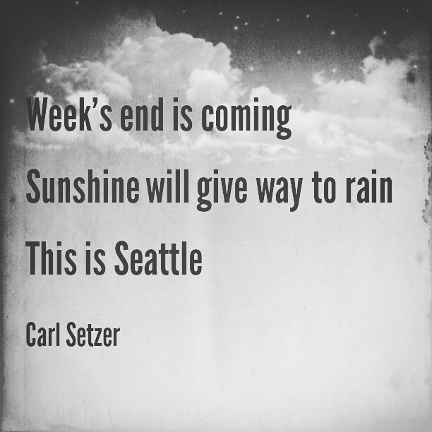 A Seattle Weekend