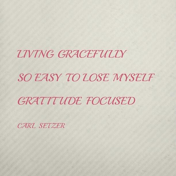 A meditation ongratitude