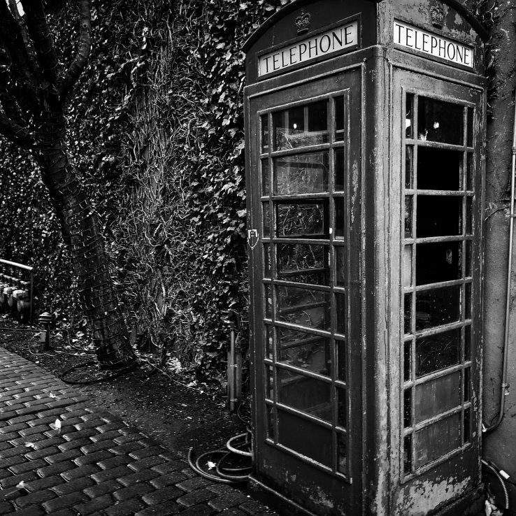 Black and white photobooth