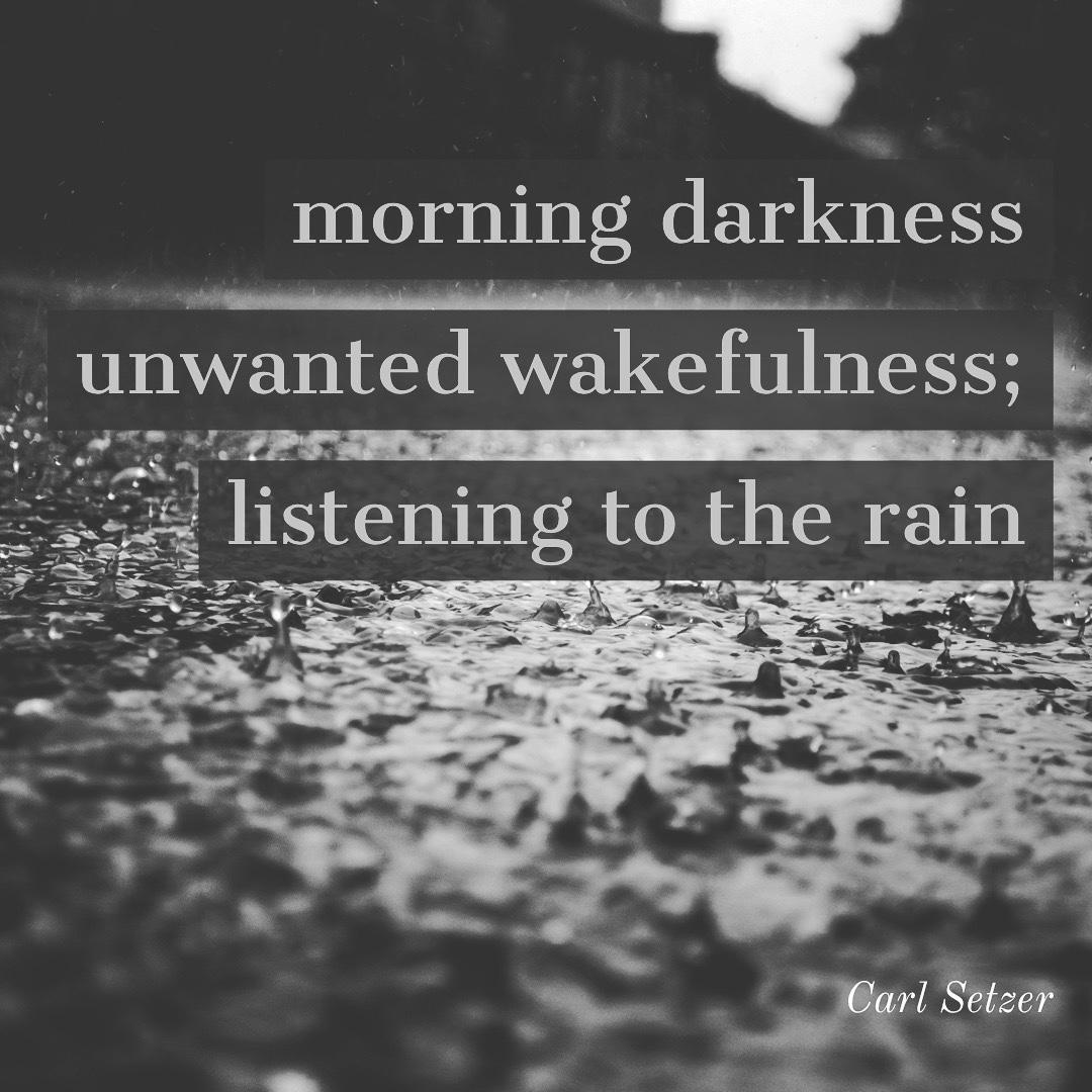 Tuesday morning haiku, December 23, 2020